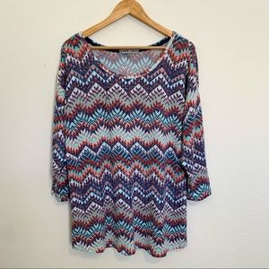 Absolutely Famous Scoop Neck Knit Top 2X